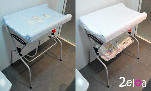 Restaurando una ba era cambiador para beb s 2eloa beb s - Fundas para cambiador bebe ...