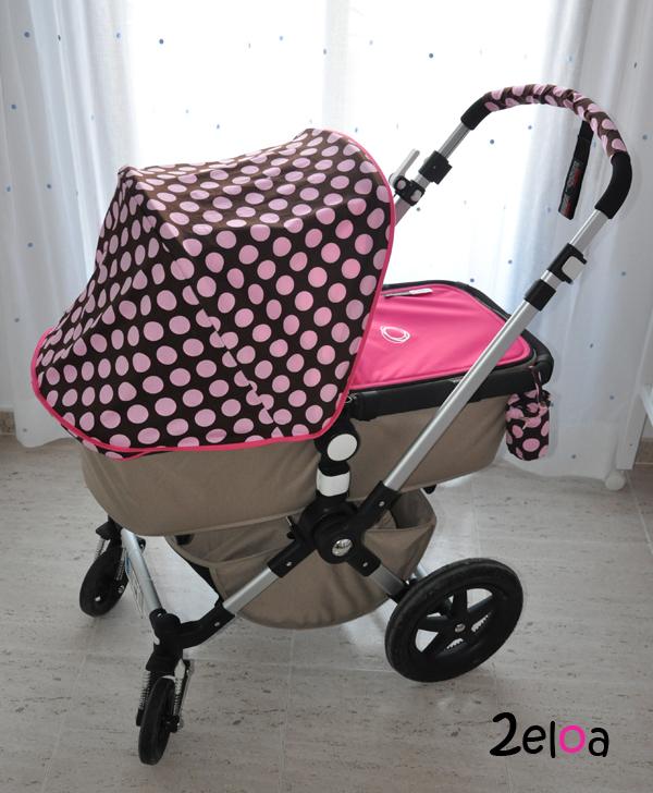 Capota personalizada para el bugaboo cameleon 3 2eloa beb s crianza diy fondant - Fundas para cochecito bugaboo camaleon ...