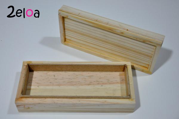 Caja de madera para hacer turrón casero con la Thermomixi
