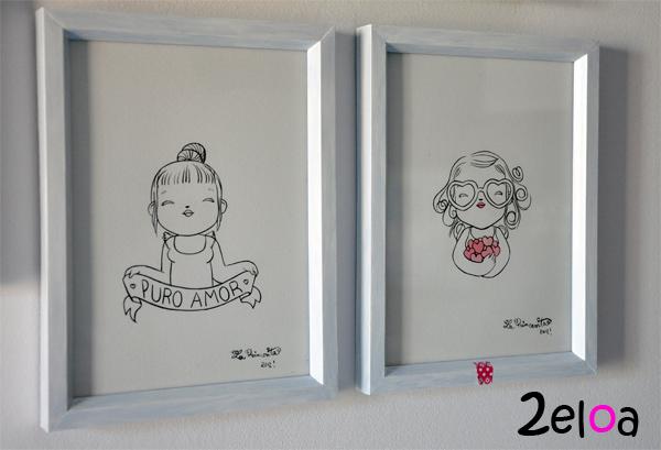 Cuadro princesita 3 - www.2eloa.com