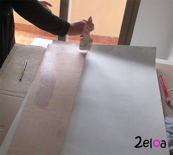 Estante comedor papel pintado 1 - www.2eloa.com
