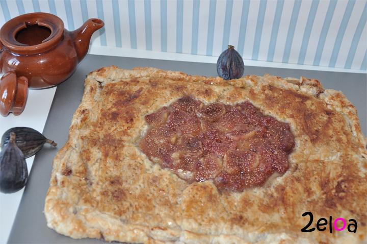 tarta de higos, almendras y hojaldre 2eloa