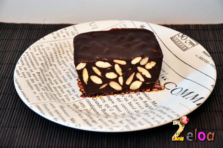 Receta chocolate con almendras crudas - www.2eloa.com
