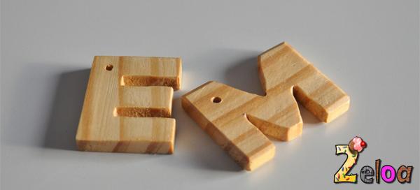 Llaveros de madera reciclada - www.2eloa.com