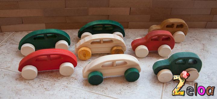 Coches de madera DIY - www.2eloa.com