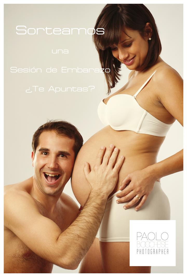 Sorteo Sesión de embarazo con Paolo Bocchese - www.2eloa.com