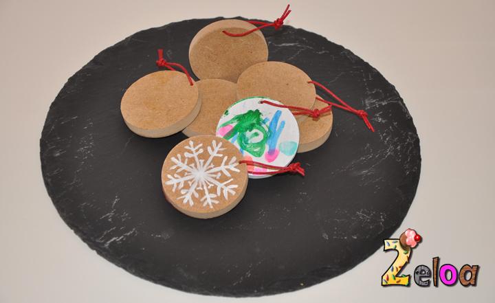 Adornos Navidad madera reciclada - www.2eloa.com