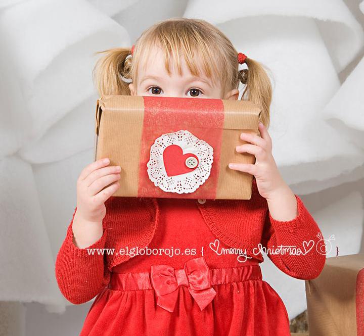 Sesión Navidad con El globo rojo - www.2eloa.com