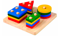 Puzzle encajable PlanToys