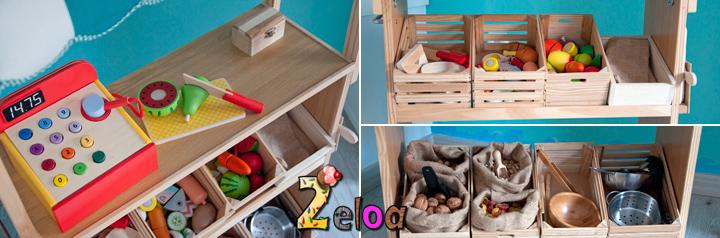 Puestecito de mercado de juguete diy 2eloa beb s for Cocina lidl madera