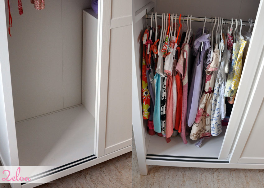C mo adaptar armario hemnes para ni os ikea hack 2eloa - Armarios para ninos ...