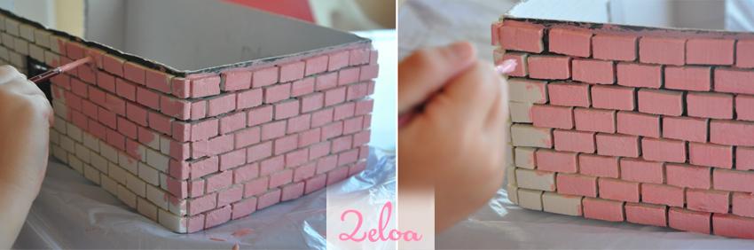 Castillo de corcho DIY