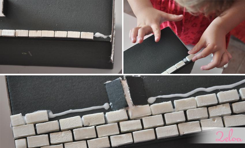 Cómo hacer un castillo con cajas de zapatos