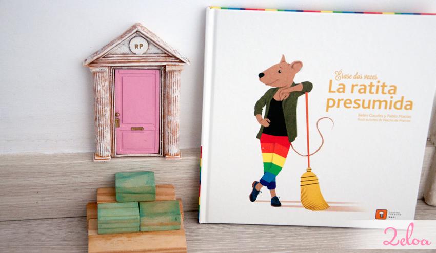 La puertecita del ratoncito Pérez me ha venido que ni pintada. ¡¡Hasta comparten iniciales!!