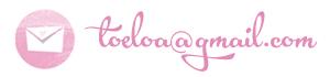 Escríbeme a toeloa@gmail.com