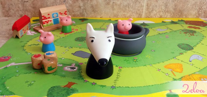 Juegos en Familia: Woolfy de Djeco