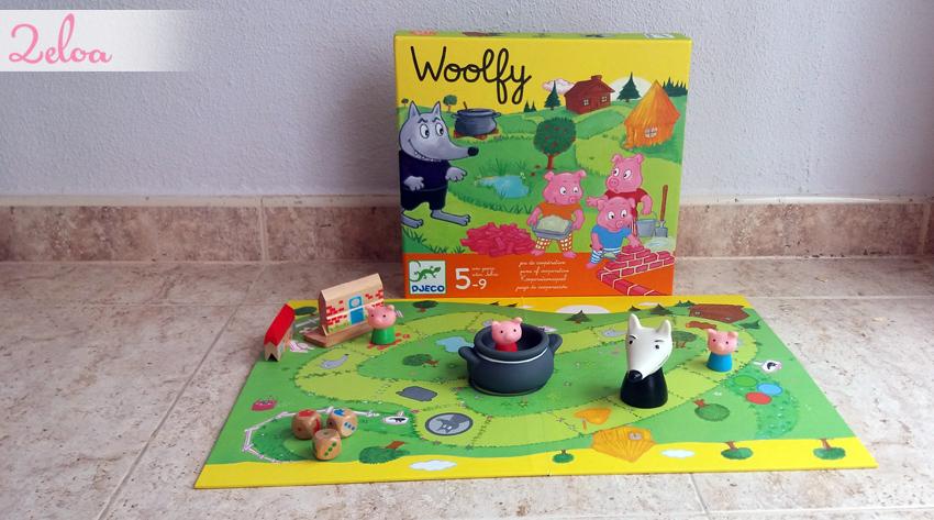 Juegos en familia: Woolfy